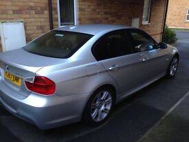 BMW 320 M sport with leather seats
