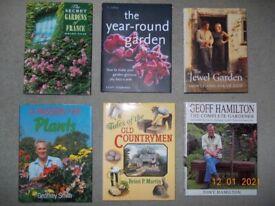 Garden / Country Book Selection