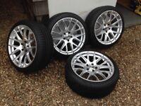 18 inch Golf Alloy Wheels