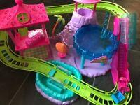 Polly Pocket Roller Coaster Resort Set