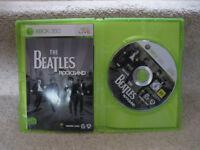 Xbox 360 Rock band Beatles Edition