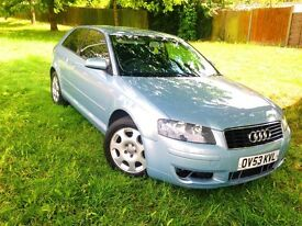 Audi A3 2003 1.6L, Long Mot,Excellent Engine And GearBox Not To Be Missed,Tinted Windows Quick Sale