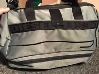 FANTASTIC DIESEL BAG AS NEW WAS £200 ONLY 40!!! 50X25X40 CM