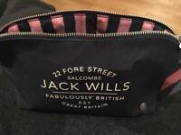 Jack Wills Toilet Bag plus accessories