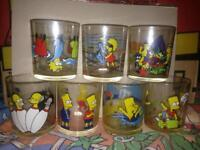 The Simpsons Nutella Glasses x 7