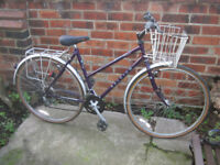 Raliegh Ladies Pioneer Clasic cycle 1970's little used