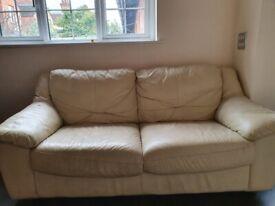 Leather Sofa x2