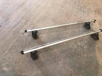 Thule aero roof bars and mounting kit for mk4 golf