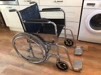 Lovely Lightweight Portable Folding Puncture Proof Mobility Wheelchair - SUPERB CONDITION