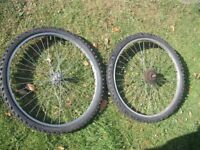 Mountain bike bicycle wheels set 26 X 1.95