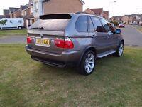 "2006 06 BMW X5 3.0d SPORT SATNAV/TV 20"" LE MANS WHEELS (MAY PX P/X PART EXCHANGE BMW MERC WHY?)"