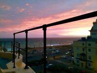 SHORT LET* 2 bed Flat. GUARANTEED ACCEPTANCE. Sea & Sunset Views.