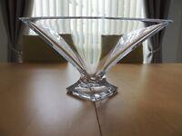 Beautiful Lead Crystal Bowl/Vase.