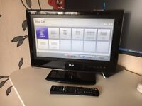 """LG 19"""" LCD HD TV with USB"""