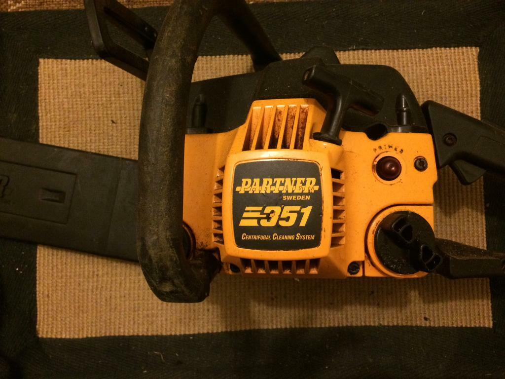 Partner Sweden 351 Petrol Chainsaw In Bishops Cleeve