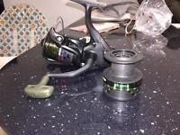 Baitrunner fishing reels