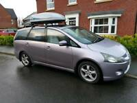 Mitsubishi Grandis 7 seaters year 2006. Great family MPV. - roof box NOT Included.