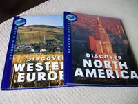 """Reader's Digest set of 2 books """"Discover the World"""""""