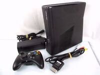 XBox 360 250gb plus GTA 5, Call of Duty Black ops, 27 games package ono