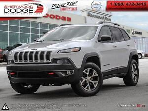 2014 Jeep Cherokee Trailhawk| BLUETOOTH| BACK UP CAMERA