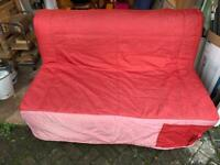 *FREE* IKEA Double Sofa Bed with Red Cover