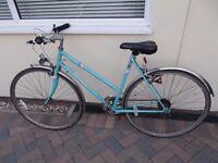Ladies Classic Triumph Bike