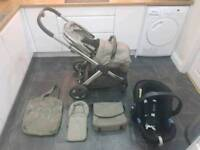 Oyster 2 with colour pack and Cybex car seat