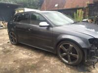 2012 62 AUDI RS3 2.5 TFSI QUATTRO CAT C DAMAGED REPAIRABLE LIGHT DAMAGE