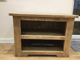 Wooden tv unit REDUCED FOR QUICK SALE