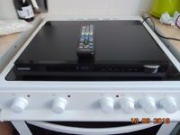 samsung dvd player ht-c45 in good condition has remote control and usb, touch control buttons