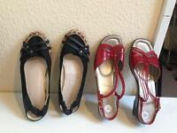 2 X ladies shoes- size 7 -Lotus