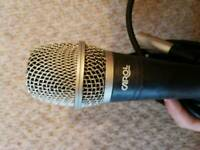 Carol wired microphone with cable