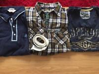 Men's designer bundle of clothes Large