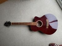 Electric Acoustic Guitar - Stagg SW206CE