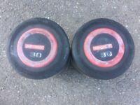 30 kg pair of escape dumbbells