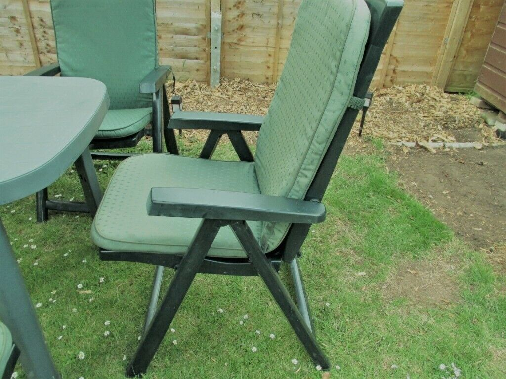 Recliner Chair: Reclining Garden Chair Cushions Homebase