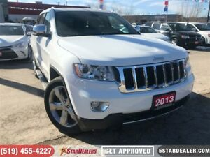 2013 Jeep Grand Cherokee Limited | LEATHER | ROOF | NAV | 4X4