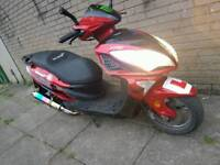 Lexmoto fms 125cc moped for sale or swaps for a gilera runner 125