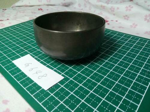 """2.657"""" Japanese Vintage Buddhist Bell Gong Rin G648 Poor Tone No sound"""