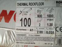 Rockwool thermal Rockfloor insulation