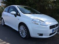 Punto Sporting t-jet 1.4. 2008. 70,000 miles 1 owner from new great condition