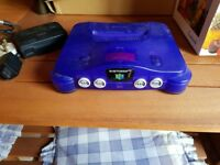 Classic Purple N64 in excellent condition