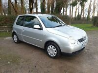 2002 VOLKSWAGEN LUPO 1.4 PETROL 3 DOOR SILVER - Small Cheap Car