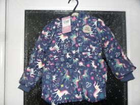 new girls TU coat 9-12 mts