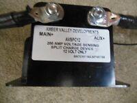 200Amp split charge device