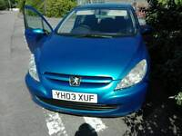 Peugeot 307 for swap or sale