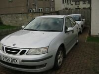 saab 1.8 petrol 9-3 one years mot 04 plate