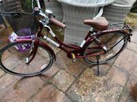 Ladies Classic Real shopping bike