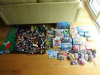Bundle of 32 Lego Sets, Lots of Spare Bricks, Baseboards & Extra Minifigures - Space, City, Creator