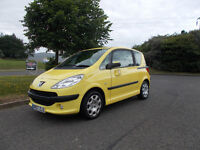 PEUGEOT 1007 DOLCE 1.4 HATCHBACK STUNNING YELLOW 2007 ONLY 62K MILES BARGAIN 1450 *LOOK* PX/DELIVERY